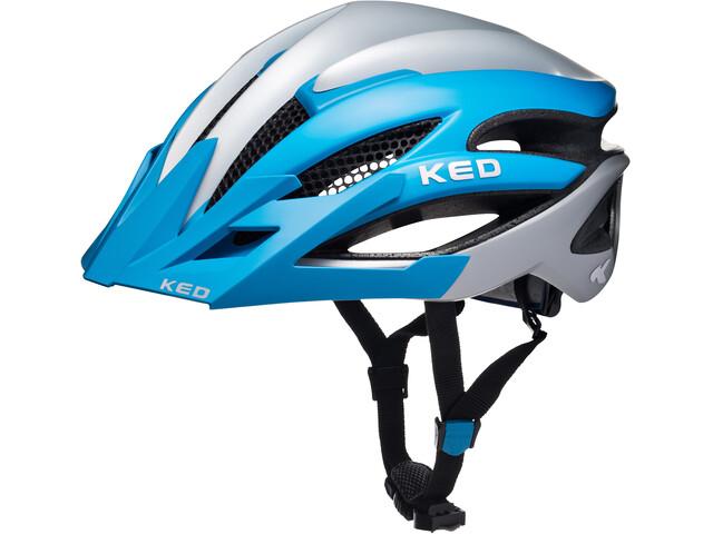 KED Wayron PRO Visor Helmet Blue Pearl Matt